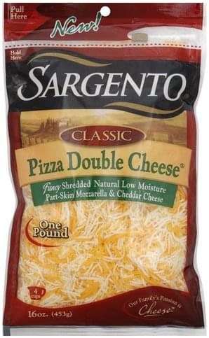 Sargento Pizza Double Shredded Cheese