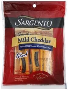 Sargento Snack Bars Mild Cheddar Cheese