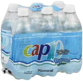 Cap 10 Sparkling Mineral Water Natural