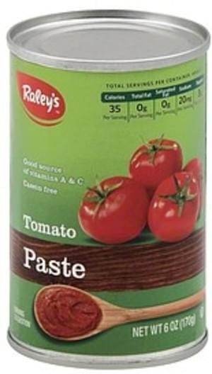 Raleys Tomato Paste - 6 oz