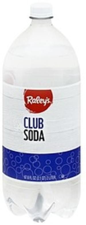 Raleys Club Soda - 67.6 oz