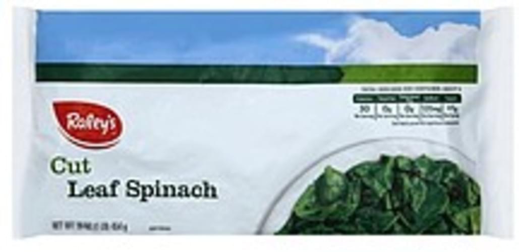 Raleys Cut Leaf Spinach - 16 oz