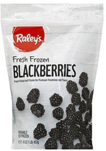 Raleys Frozen Blackberries - 16 oz