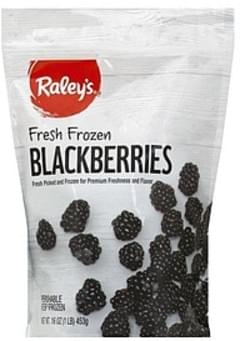 Raleys Blackberries Frozen