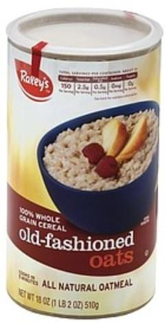 Raleys Oatmeal All Natural, Old Fashioned Oats