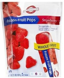 Raleys Frozen Fruit Pops Strawberry