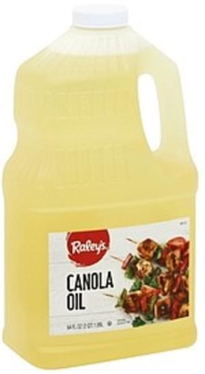 Raleys Canola Oil - 64 oz