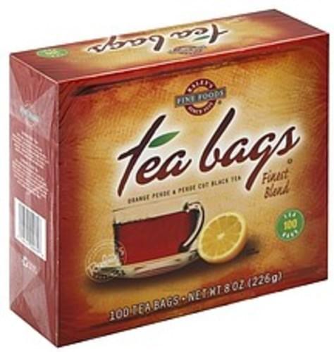 Raleys Orange Pekoe & Pekoe Cut, Tea Bags Black Tea - 100 ea