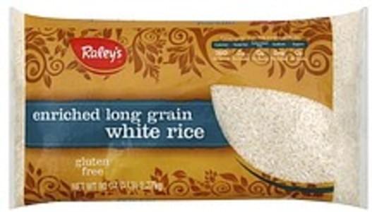 Raleys White Rice Enriched, Long Grain