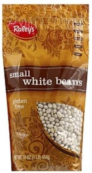 Raleys Small White Beans - 16 oz