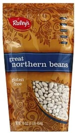 Raleys Great Northern Beans - 16 oz