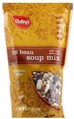 Raleys Soup Mix 16 Bean, with Ham Seasoning