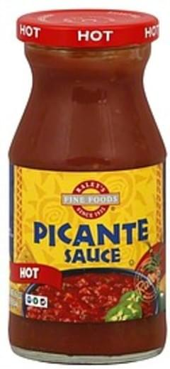 Raleys Picante Sauce Hot