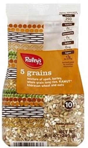 Raleys 5 Grains - 8.8 oz