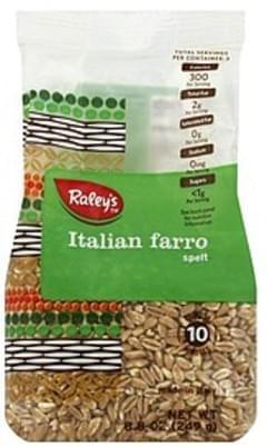 Raleys Italian Farro Spelt