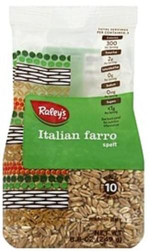 Raleys Italian Farro Spelt - 8.8 oz