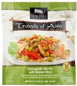 Nob Hill Shanghai Stir-Fry with Brown Rice