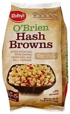 Raleys Hash Browns O'Brien