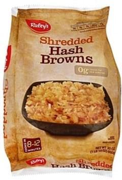 Raleys Hash Browns Shredded