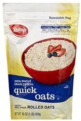 Raleys Quick Oats - 16 oz