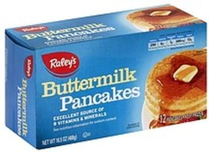 Raleys Pancakes Buttermilk