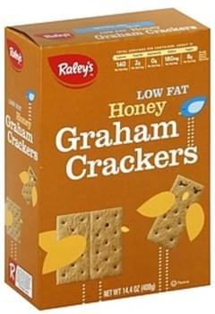 Raleys Graham Crackers Honey, Low Fat