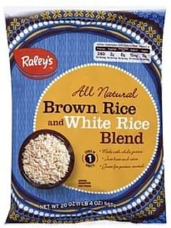 Raleys Brown Rice and White Rice Blend