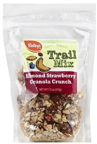 Raleys Almond Strawberry Granola Crunch Trail Mix - 7.5 oz