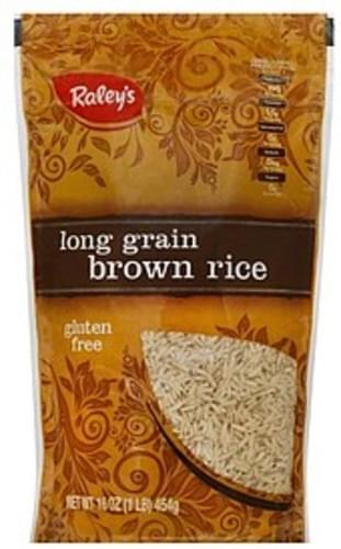 Raleys Long Grain Brown Rice - 16 oz