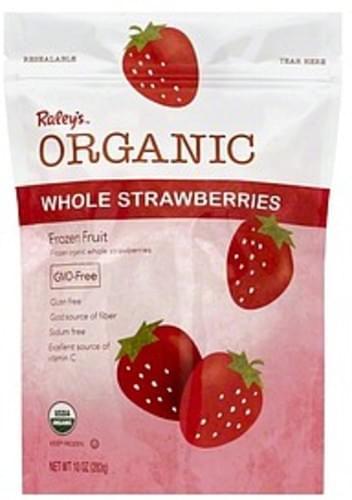 Raleys Whole Strawberries - 10 oz
