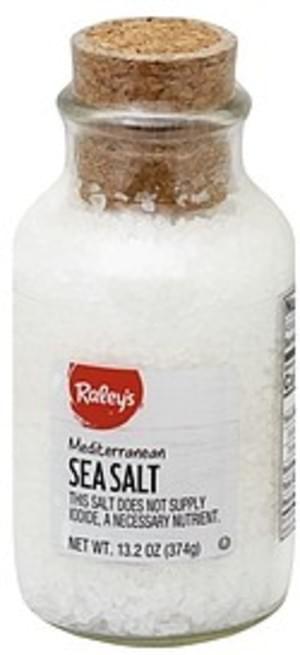 Raleys Mediterranean Sea Salt - 13.2 oz