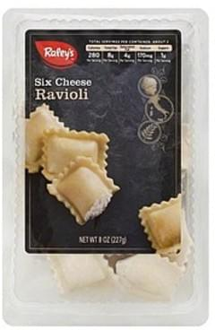Raleys Ravioli Six Cheese