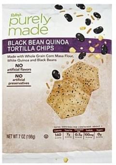 Raleys Tortilla Chips Black Bean Quinoa