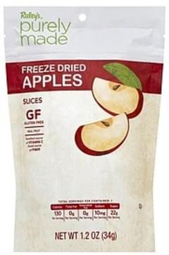 Raleys Apples Freeze Dried, Slices