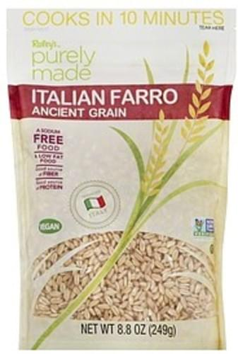 Raleys Italian Farro Ancient Grain - 8.8 oz