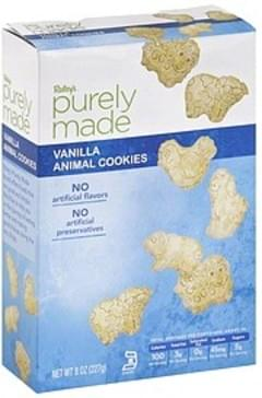 Raleys Animal Cookies Vanilla