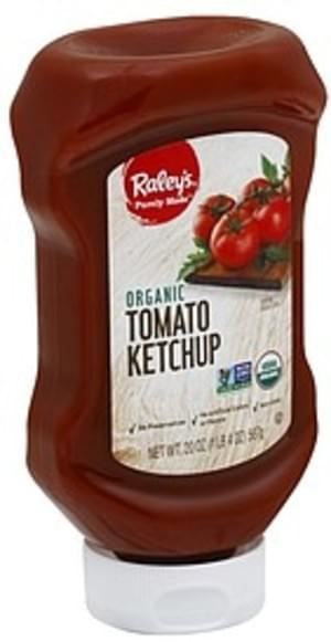 Raleys Organic Tomato Ketchup - 20 oz
