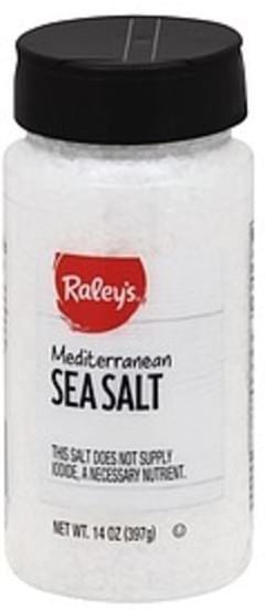 Raleys Sea Salt Mediterranean