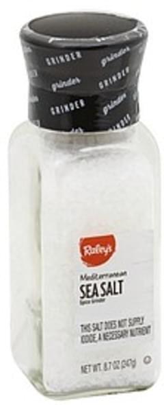 Raleys Sea Salt Mediterrean, Spice Grinder