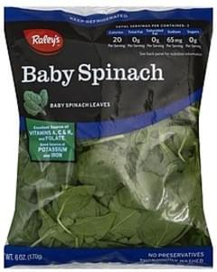 Raleys Spinach Baby