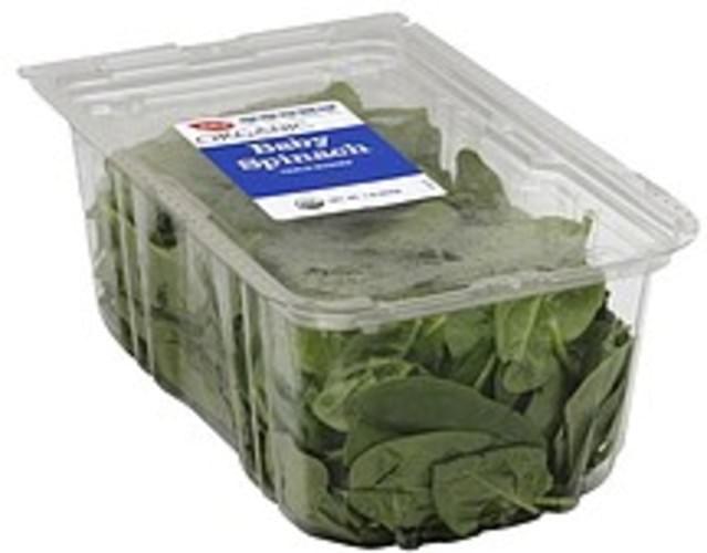 Raleys Baby, Organic Spinach - 1 lb
