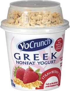 Breyers Yogurt Yocrunch Greek Nonfat Strawberry