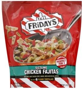TGI Fridays Sizzling Chicken Fajitas