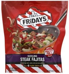 TGI Fridays Sizzling Steak Fajitas