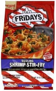 Tgi Fridays Shrimp Stir-Fry Sizzling