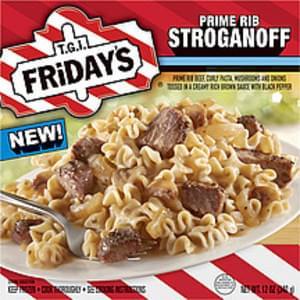 T.g.i. Friday's Frozen Entree Prime Rib Stroganoff
