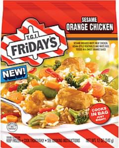 T.g.i. Friday's Frozen Entree Sesame Orange Chicken