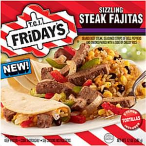 T.g.i. Friday's Frozen Entree Sizzling Steak Fajitas