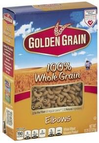 Golden Grain Elbows 100% Whole Grain