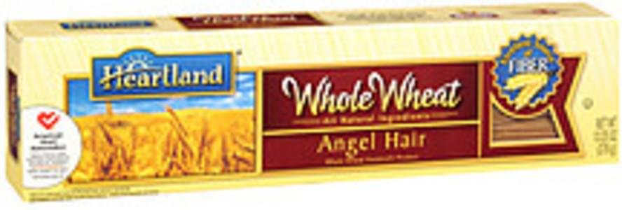Heartland Macaroni Whole Wheat All Natural Ingredients Angel Hair Vermicelli Product